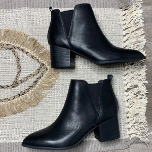 NEW Anthropologie Liendo Pointed Ankle Booties
